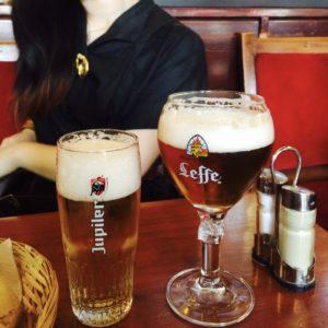 ベルギーのビール ジュピラーとサフ