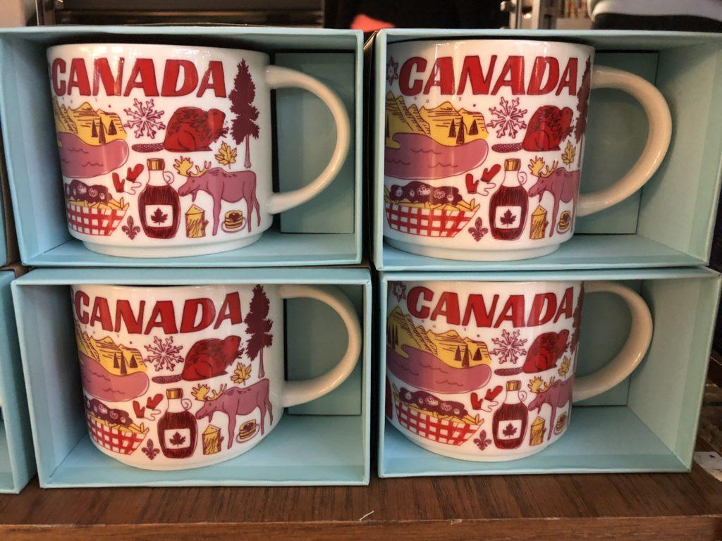 新デザインのスタバマグカップ カナダバージョン