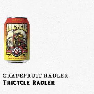 Tricycle grapefruit radler beer