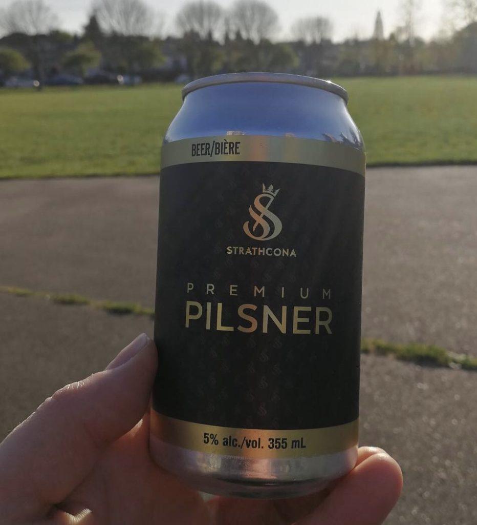 ストラスコナピルスナービール缶