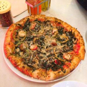 ストラスコナのベジタリアンピザ