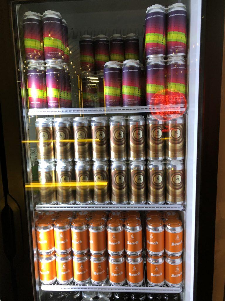 ストラスコナの缶ビール