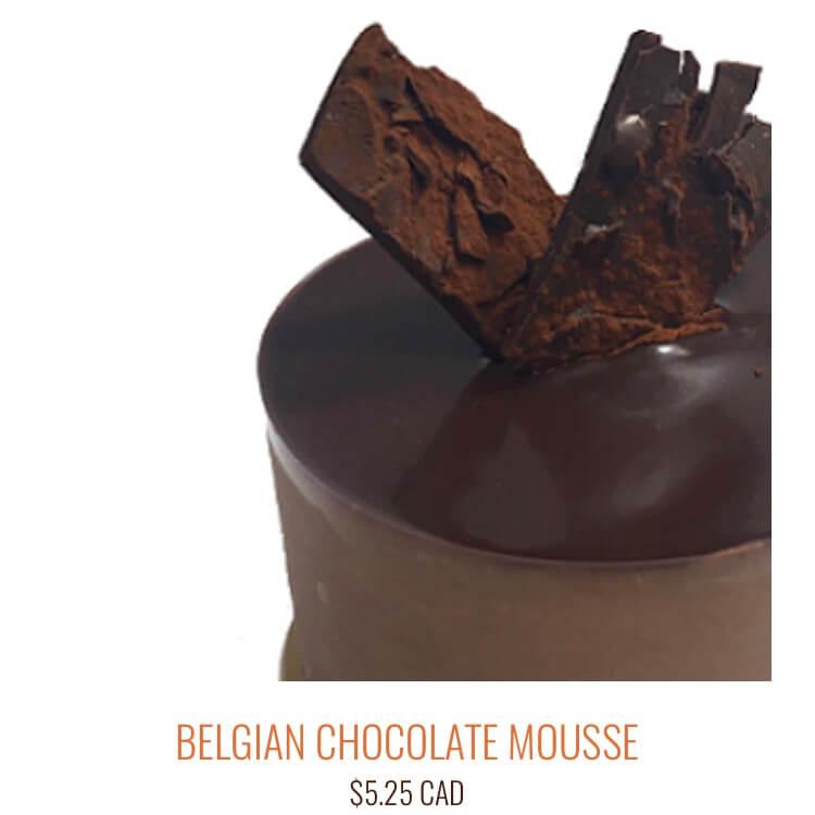 ベルジャンチョコレートムース