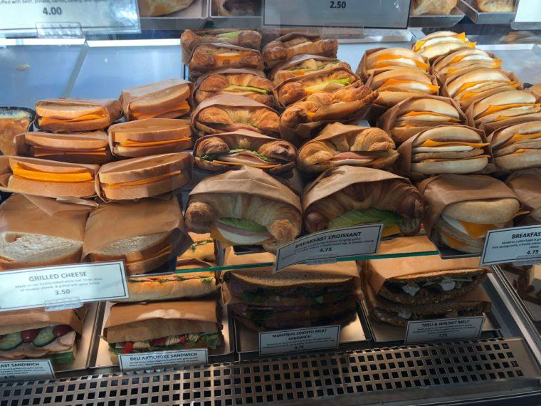 ブレカのサンドイッチ