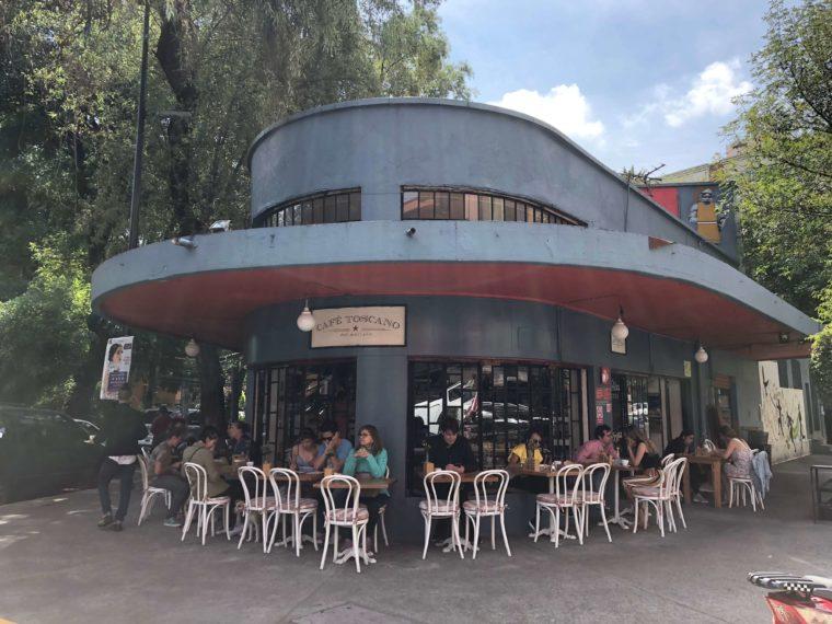メキシコシティのアール・デコ建築 おしゃれカフェ