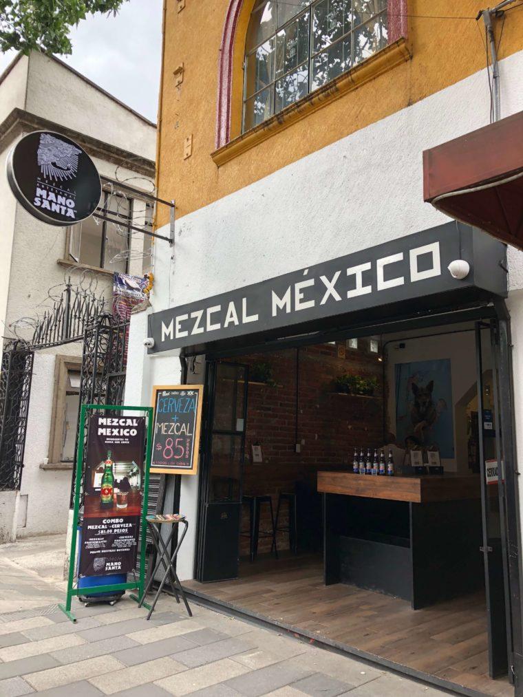 メキシコシティのメスカルバー