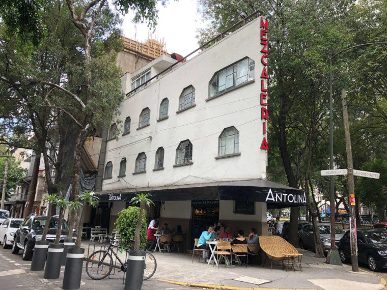 メキシコシティのカフェ アール・デコ