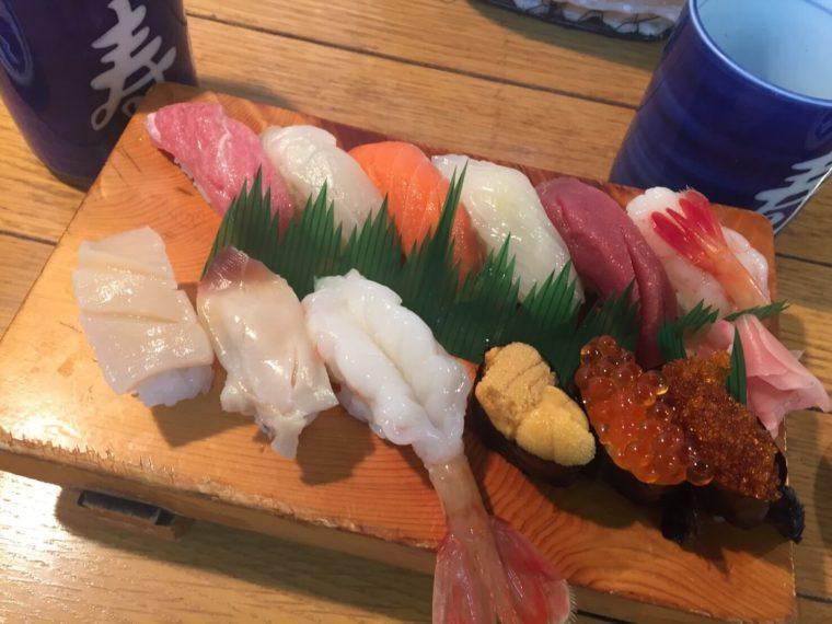 北海道 グルメ 寿司 たけ江寿司