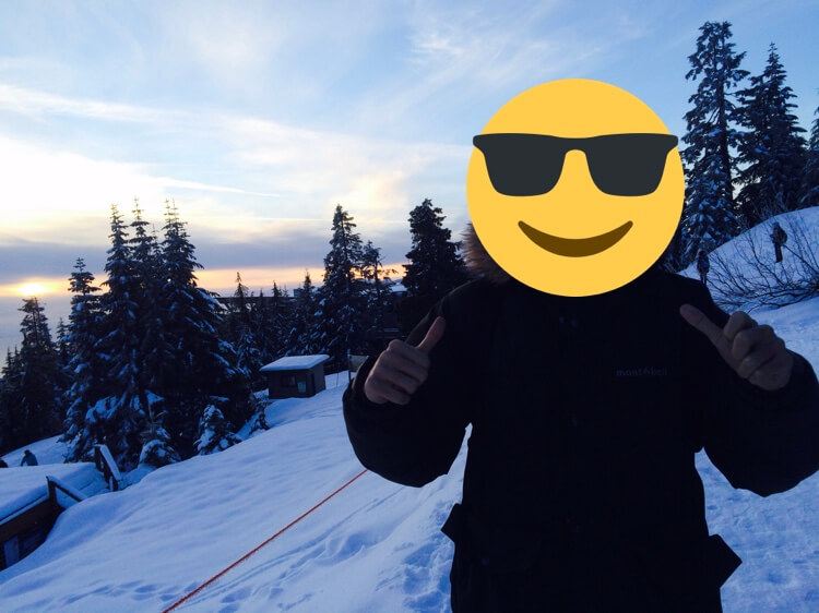 バンクーバー付近のゲレンデ スキー場 グラウスマウンテン