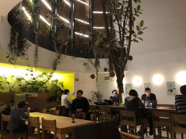 メキシコシティのおしゃれカフェ Wi-Fi有り