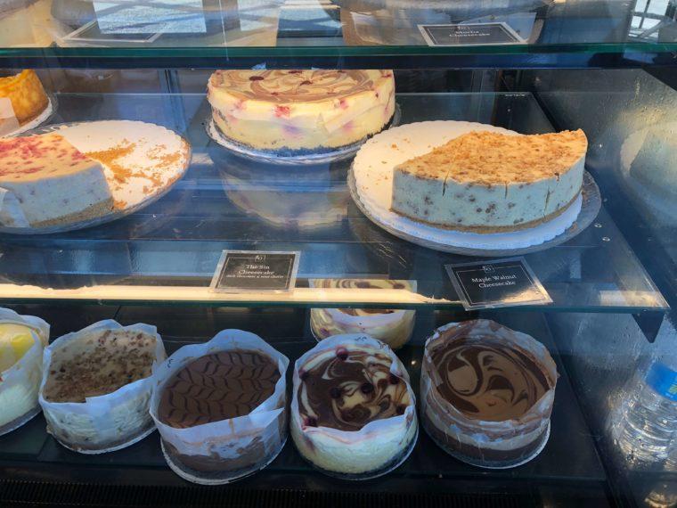 ツリーズカフェのチーズケーキ