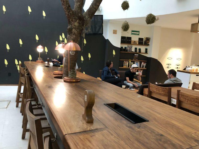 メキシコシティのおすすめカフェ クリエイティブ空間