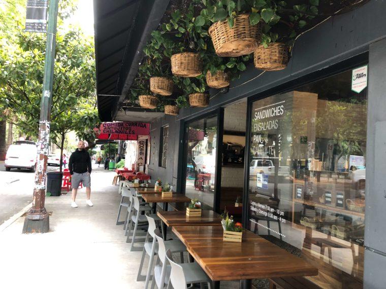 メキシコシティのおしゃれカフェ 街歩き