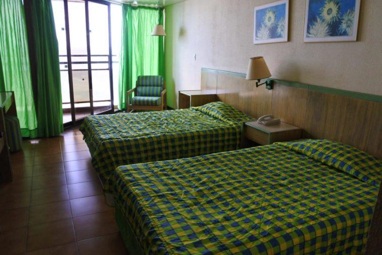 キューバのリゾート地バラデロで泊まったホテルのお部屋