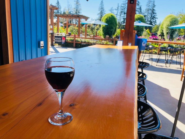 バンクーバーからベリーファーム ワイナリーのベリーワイン