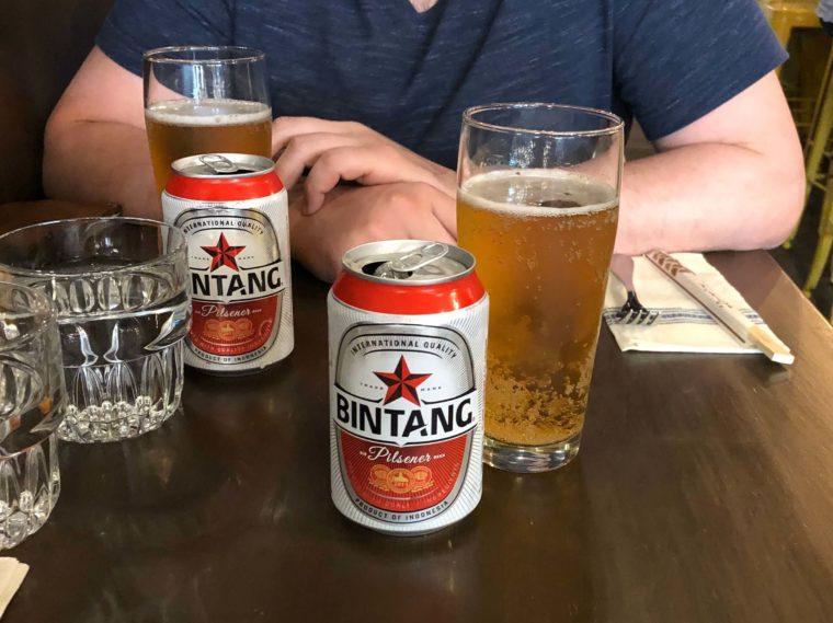 ハワイで飲んだインドネシアのビール ビンタンビール
