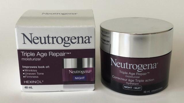 Neutrogena ナイトクリームTriple Age Repair