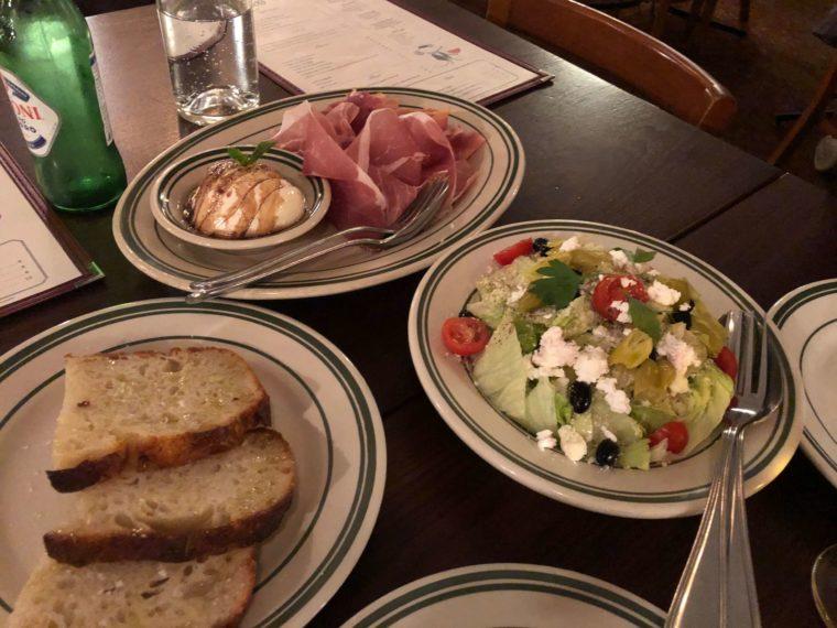バンクーバーおすすめイタリアンレストランの前菜