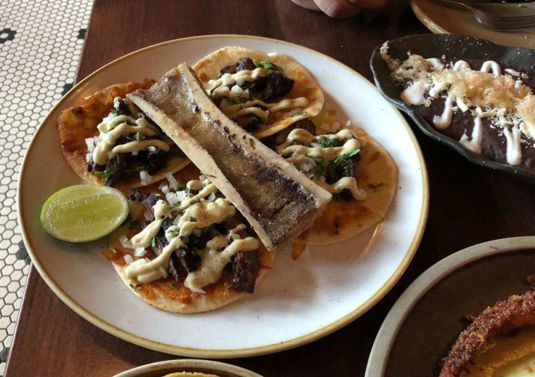 メキシカンレストランOPHELIAマストハブ!ステーキタコス