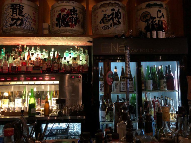 ビクトリアおいしいレストラン日本酒がたくさん!