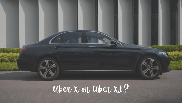 「Uber XとUber XLの違い」引っ越しで荷物多いけどどっち選んだらいい?