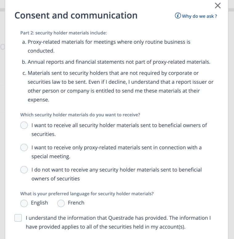 カナダの証券会社Questradeの口座開設方法解説
